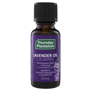 Lavender Oil 100% 25ml by Thursday Plantation