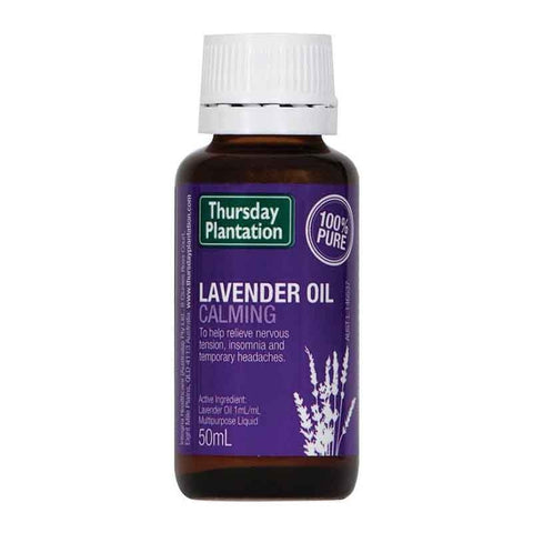 Lavender Oil 100% 50ml by Thursday Plantation
