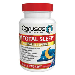 Carusos Natural Health Total Sleep 30 Tablet