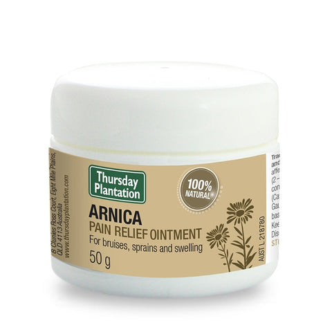 Arnica Pain Relief Ointment 50g by Thursday Plantation