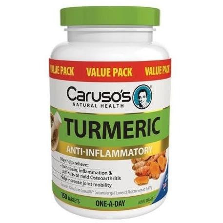 Turmeric by Carusos Natural Health