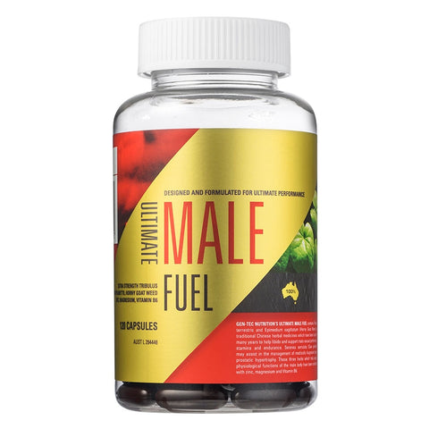 Ultimate Male Fuel 120 gel caps by Gen-Tec