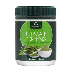 Ultimate Greens 200g Powder by Lifestream