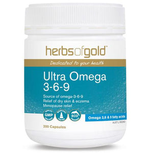 Ultra Omega 369 200 Capsules by Herbs Of Gold