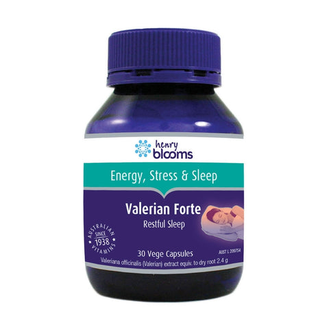 Valerian Forte Capsules by Blooms