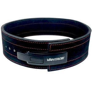 Leather Lever Belt (10mm) by Vantage Strength