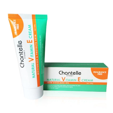 Chantelle Natural Vitamin E Cream