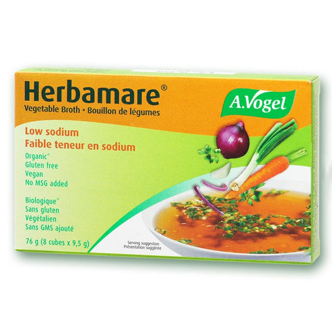 Vogel Herbamare Bouilion Vegetable Stock Cubes Diet Low Sodium Pack