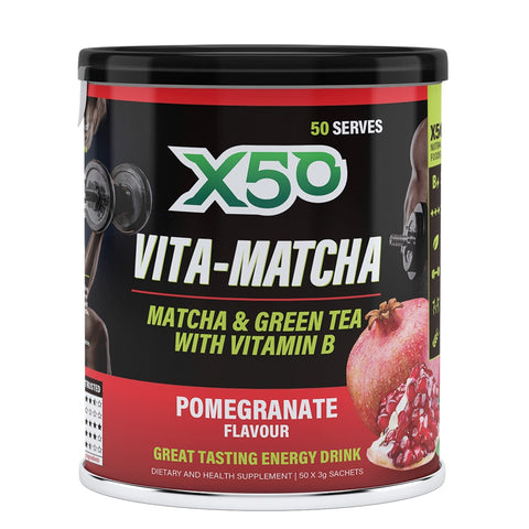 Image of Vita-Matcha 50 Serve by X50