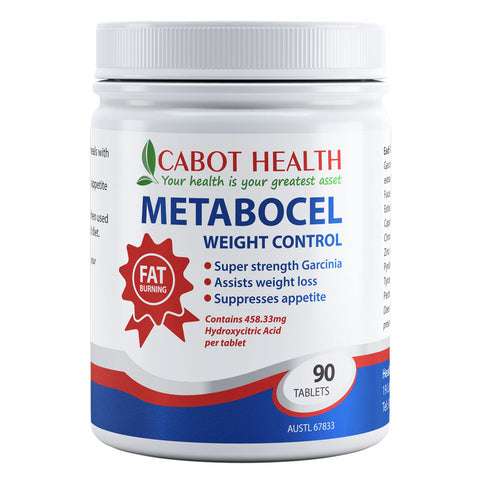 Metabocel Weight Control by Cabot Health (Sandra Cabot)