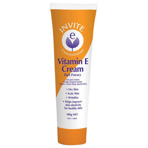High Potency Vitamin E Cream 100g by Invite E