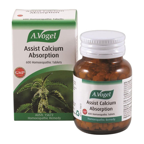 Assist Calcium Absorption 600 Tablets by Vogel