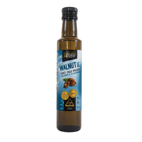 Cold Pressed Walnut Oil 250ml by Pressed Purity