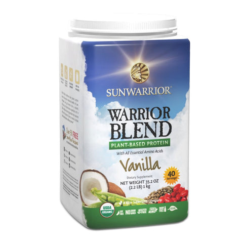 Sunwarrior Warrior Blend - Organic Plant-Based Protein
