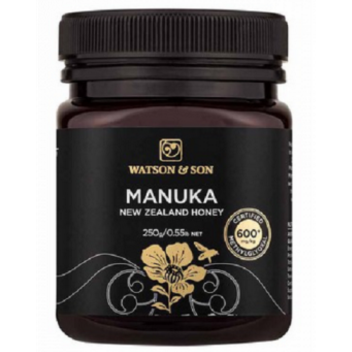 600+ MGO 250g Black Label Manuka Honey - Watson & Son