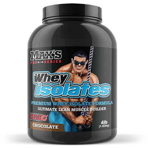 Image of Whey Isolate 1.82kg (4lb) by Maxs