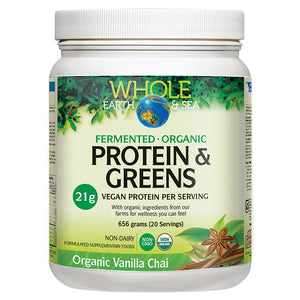 Fermented Organic Protein & Greens by Whole Earth & Sea