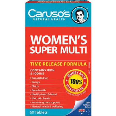 Image of Womens Super Multi 60 Tablets by Carusos Natural Health