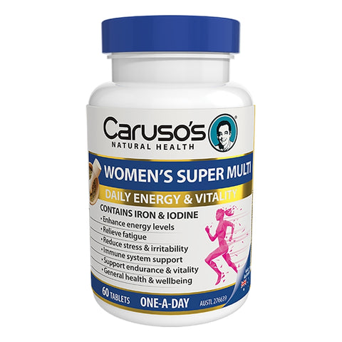 Womens Super Multi 60 Tablets by Carusos Natural Health