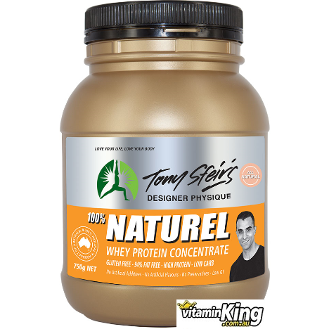 Image of Whey Protein Concentrate 1.5kg Natural (Unflavoured) by Tony Sfeirs Designer Physique
