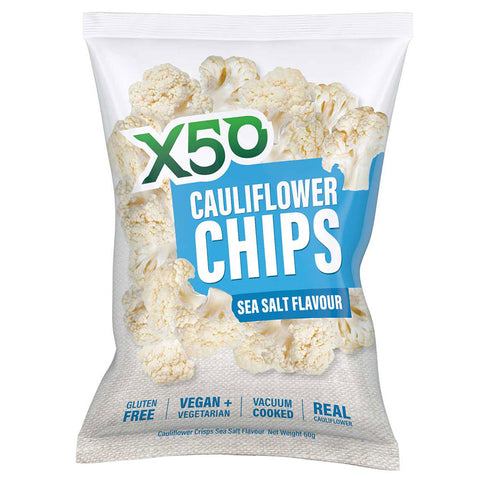 Image of Cauliflower Chips by Green Tea X50
