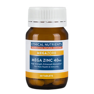 Ethical Nutrients Mega Zinc 40mg