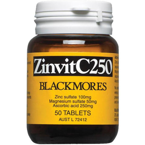 Zinvit C 250 Tablets by Blackmores