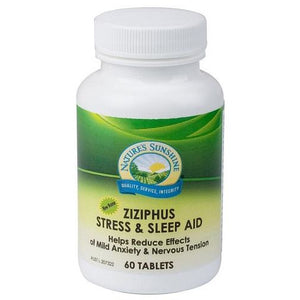 Ziziphus Stress & Sleep Aid 60 Tablets by Natures Sunshine