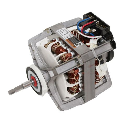 DC31-00055D Samsung Dryer Drive Induction Motor with Pulley Assembly