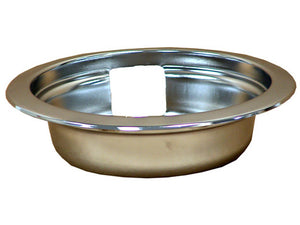 DB6CLP Universal Drip Pan - Small, Chrome