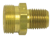 "Load image into Gallery viewer, Tectran 161201 Brass Swivel Adapter  3/8""""ID-1/4"