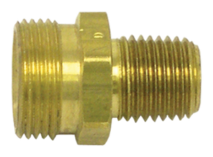 "Tectran 161201 Brass Swivel Adapter  3/8""""ID-1/4"