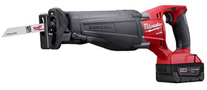 18 Volt, 3,000 SPM, Lithium Ion Cordless Reciprocating Saw