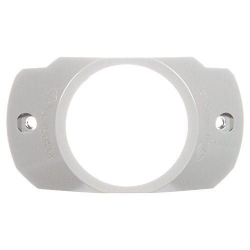 Truck-Lite 10738 Bracket Mount (10 Series, , 2-1/2 In Diameter Lights, Used In Round Shape Lights, Gray Polycarbonate, 2 Screw)