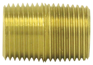 "Tectran 112-A 1/8"" Brass Close Nipple"