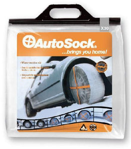 Autosock AS695 Traction Wheel and Tire Cover For Ice & Snow Easy Install