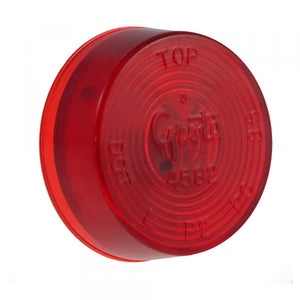 "Grote 45822 2"" ROUND SEALED RED"