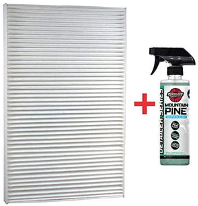 Renegade CAF1815P+P Luber-Finer CAF1815P Cabin Air Filter with Renegade Odor-Neutralizing Air Freshener (Mountain Pine) (Kit)