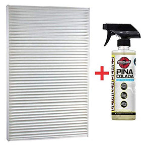 Renegade  CAF1815P+PC  Luber-Finer CAF1815P Cabin Air Filter with Renegade Odor-Neutralizing Air Freshener (Pina Colada) (Kit)