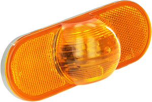 Grote 52533 TURN LAMP      Oval Side Turn Marker LightsI Torsion Mount®  yellow