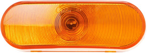 Grote 52893 AMBER SEALED OVAL LAMP   Stop Tail Turn Light