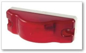 Grote 53062 CLR/MKR LAMP RED WHITE BASE