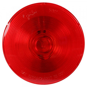 "Grote 53102 4"" RED LIGHT ROUND Torsion Mount® II 4"" Stop Tail Turn Light"