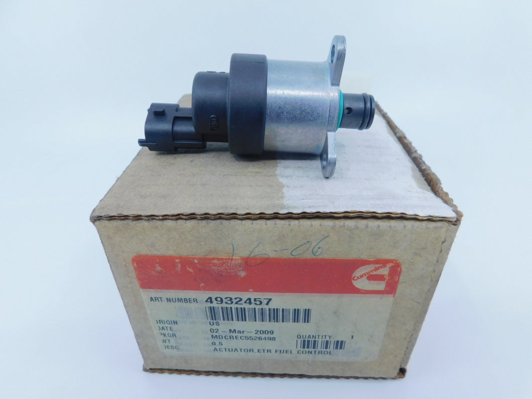 Genuine Cummins 4932457 Fuel Control Actuator NOS OEM Part