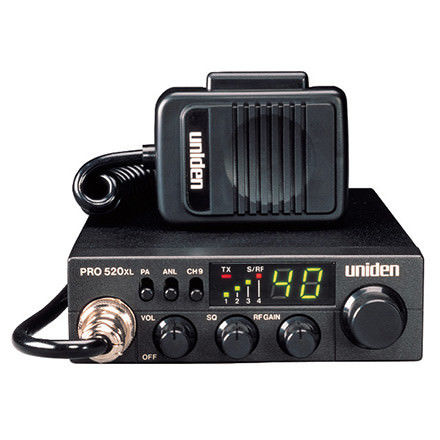 Uniden PRO520XL Compact 40 Channel CB Radio