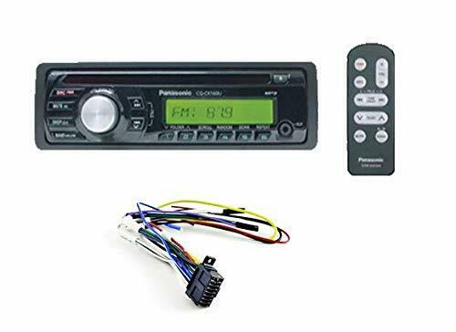 Panasonic AM/FM/MP3 CD Player Radio CQCX160U-3A+PP205249 Non-Terminated Harness
