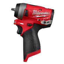 "Load image into Gallery viewer, Milwaukee MLW2599-22 M12 Stubby Cordless 1/4""&3/8"" Impact Wrench Kit"