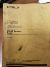 Load image into Gallery viewer, Caterpillar 3406C Truck Engine Parts Manual Pre-Owned 3ZJ16182-Up Engines