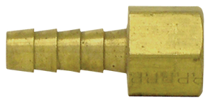 Tectran 126-6B 3/8 Pipe 1/4 Thread Brass Connector