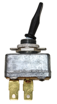 Load image into Gallery viewer, Tectran 19-1417  Toggle Switch - Single Pole - Single Throw